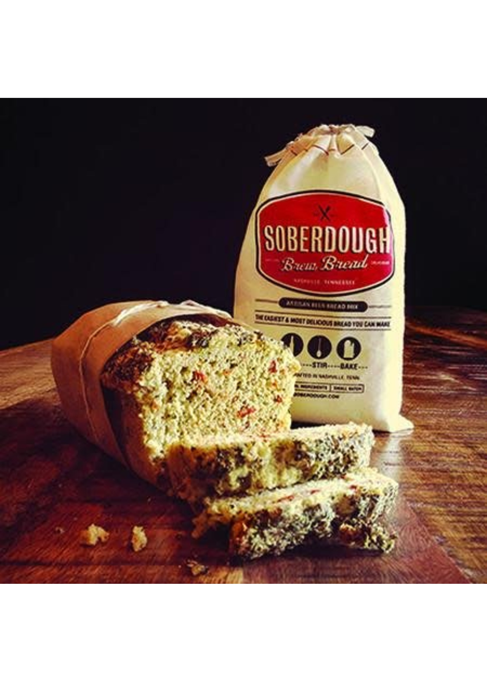 Soberdough Sundried Tomato Pesto Brew Bread Mix