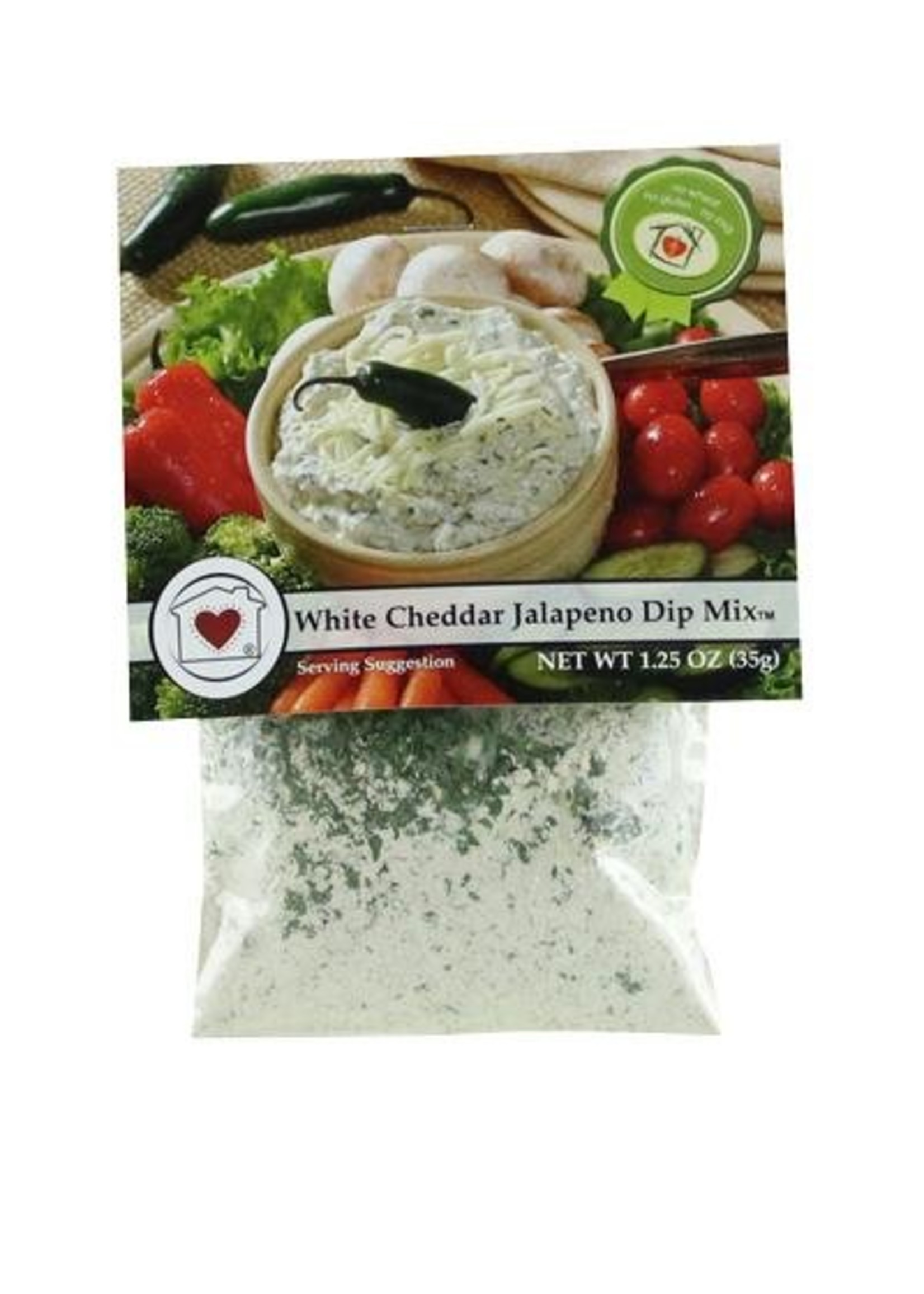 Country Home Creations White Cheddar Jalapeno Dip Mix