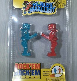 World's Smallest Rock 'Em Sock 'Em