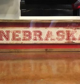 Nebraska Distress Long Sign