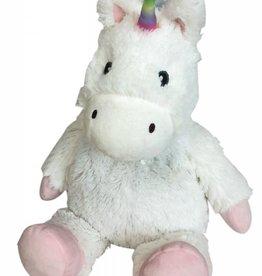 White Unicorn Warmie Plush