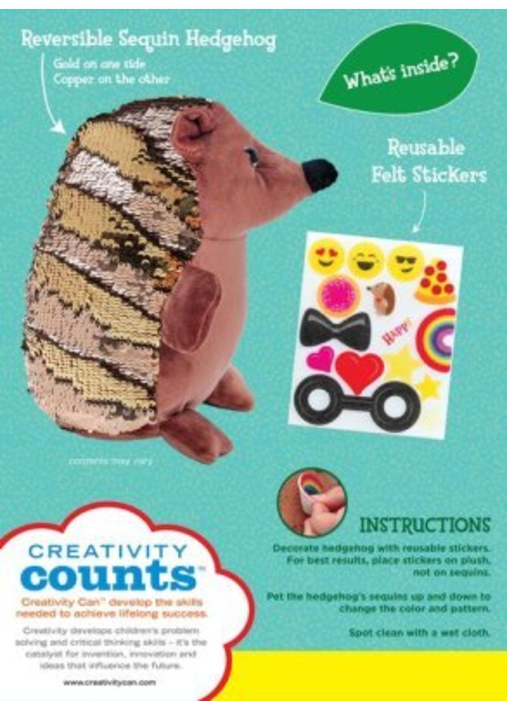 Sequin Pets Happy the Hedgehog