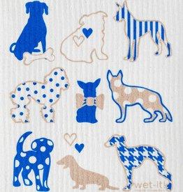Dog Lover Blue Swedish Cloth