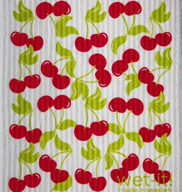 Sweet Cherries Swedish Cloth