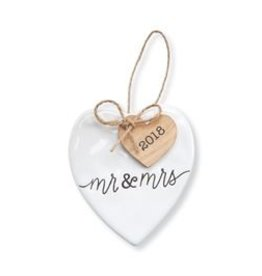 2018 Mr and Mrs Ornament