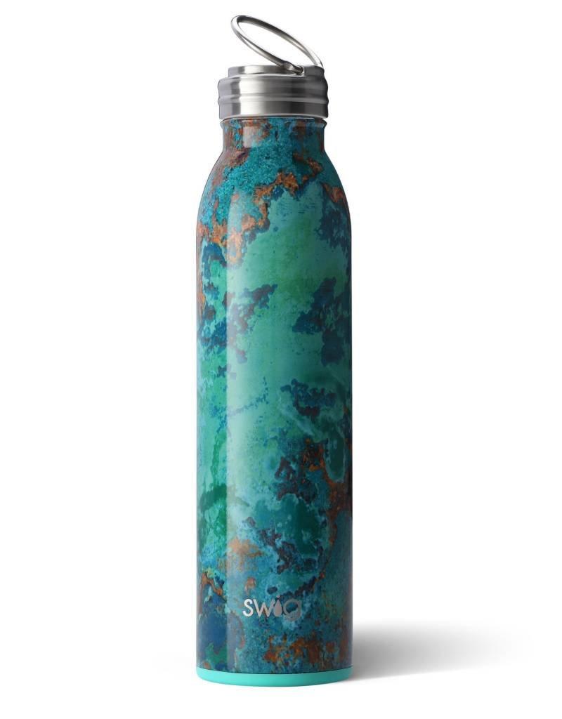 Swig 20 oz Water Bottle Copper Patina