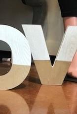 Wood L O V E Letters