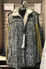 Sherpa Fleece Vest with Pockets