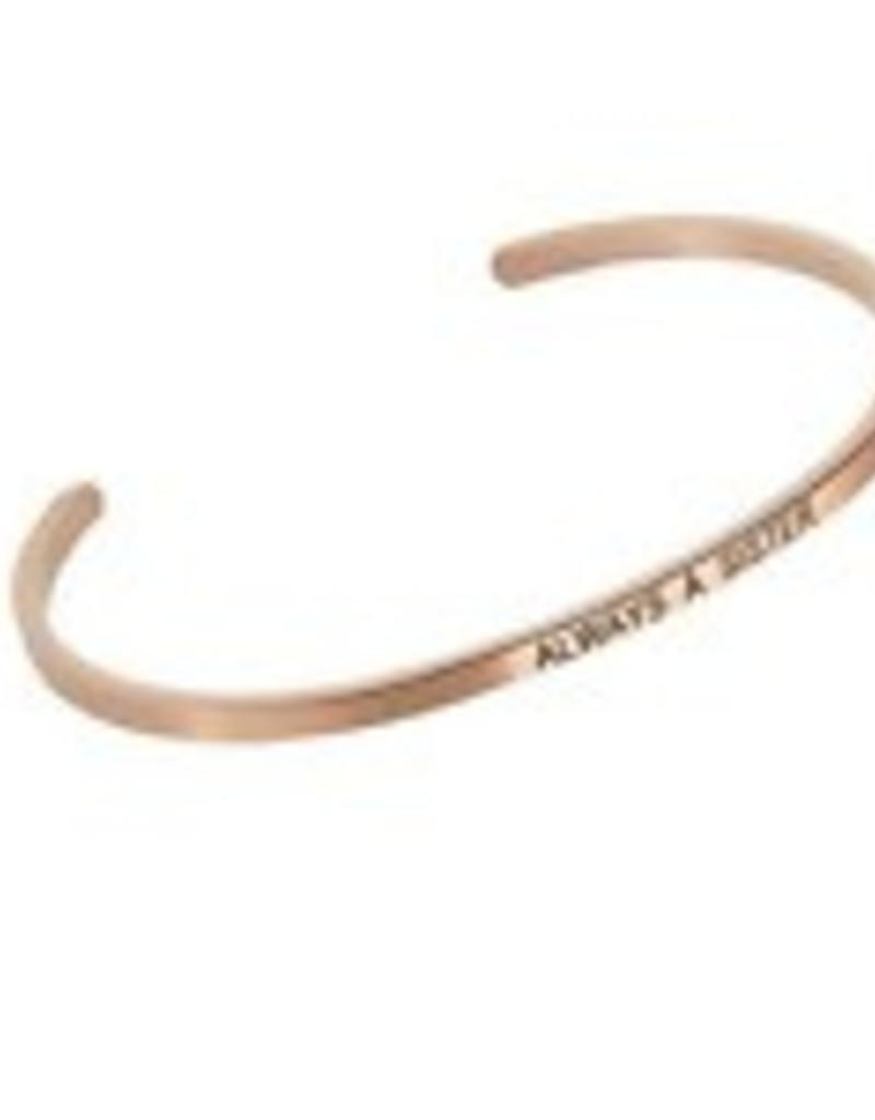 Always A Sister Embracelet Rose Gold