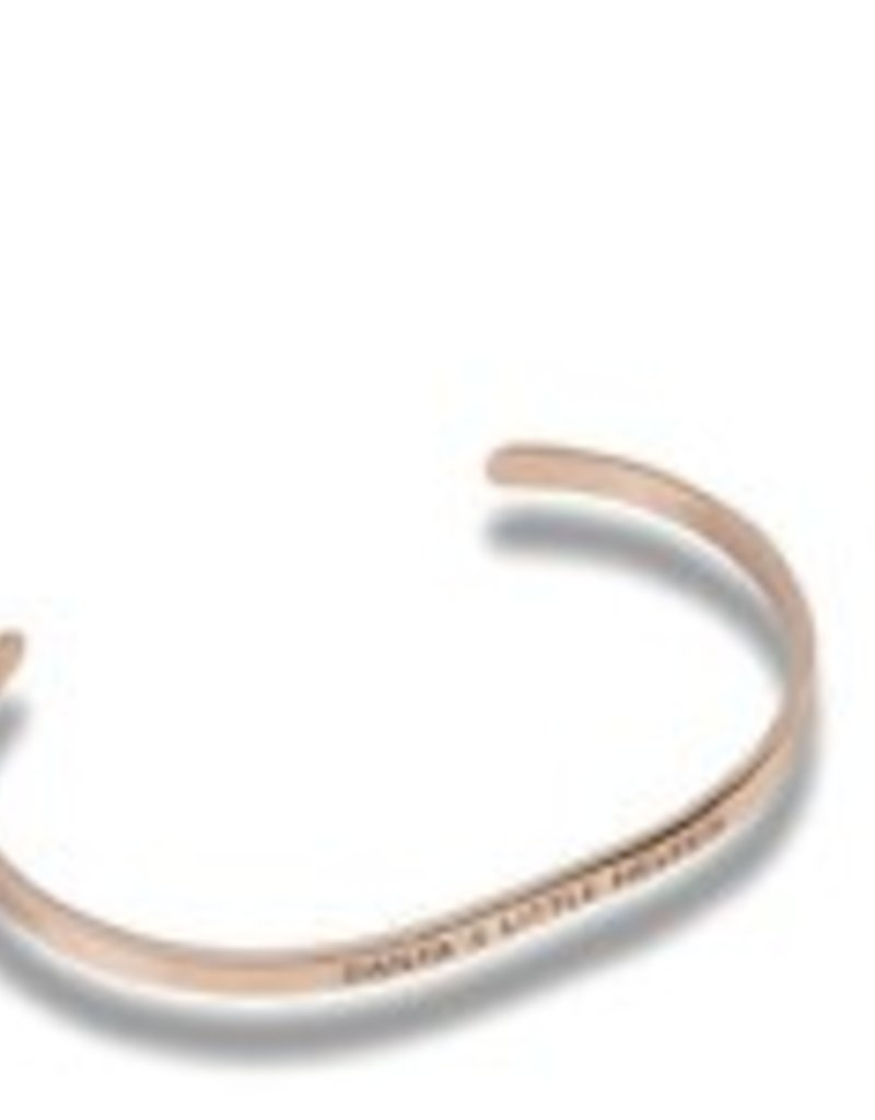 """Santa's Little Helper"" Rose Gold Embracelet"