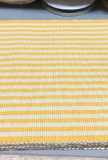 Canary Yellow Petite Stripe Placemat