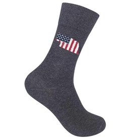 Nebraska Old Glory Socks