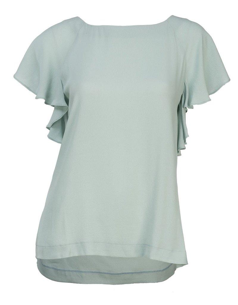 Flounce Sleeve Top