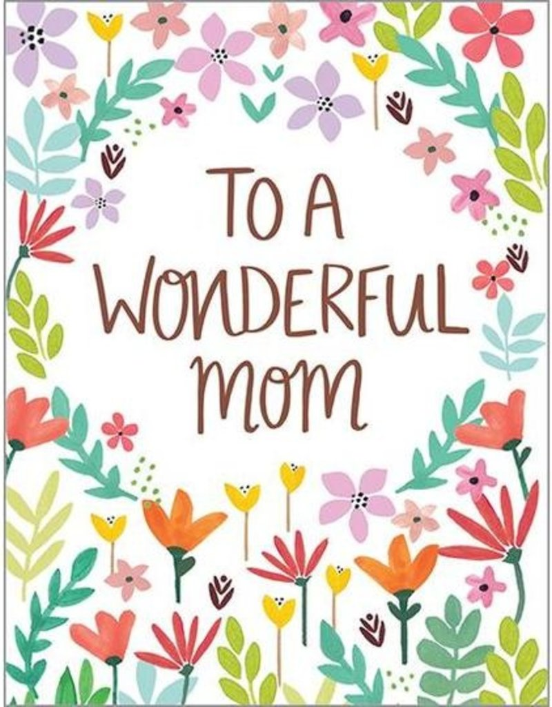 Mother's Day April Flowers Card