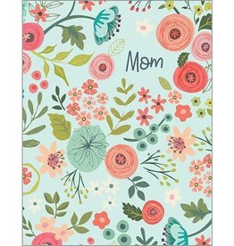 Mothers Day card- blue