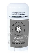 SmartyPits Charcoal & Tea Tree Sensitive Skin