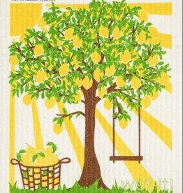 Summer Tree Swedish Cloth