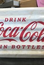Tin Drink Coca Cola Wall Sign
