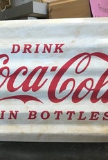 Young's Tin Drink Coca Cola Wall Sign