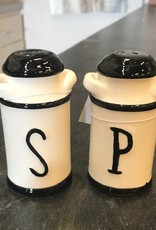 Ceramic Milk Jug Salt/Pepper Set