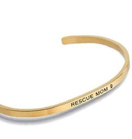 Embracelets Rescue Mom Embracelet Gold