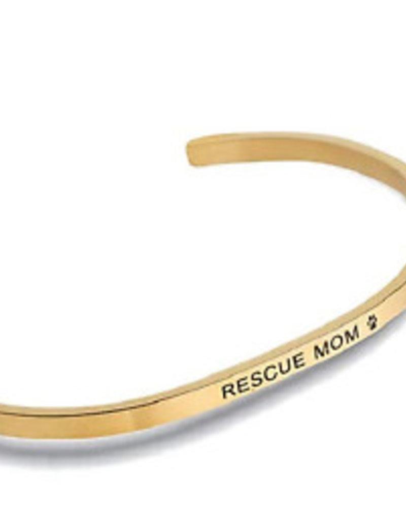 Rescue Mom Embracelet Gold