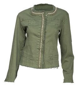 Studded Front Jacket
