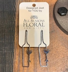 kbk Metal Dangle Earring