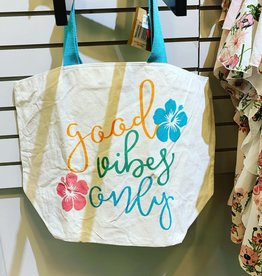 """Good Vibes"" tote"