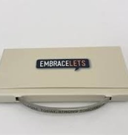 "Embracelets ""Sore Today, Strong Tomorrow"" Embracelet Silver"