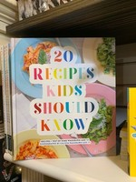 20 Recipes Kids Should Know Book