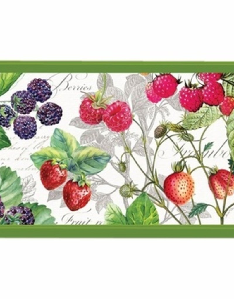 Berry Patch Large Decoupage Wooden Tray