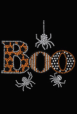 Boo With Silver Spiders