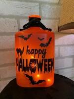 Halloween Pre-Lit Bottle 5x3x8