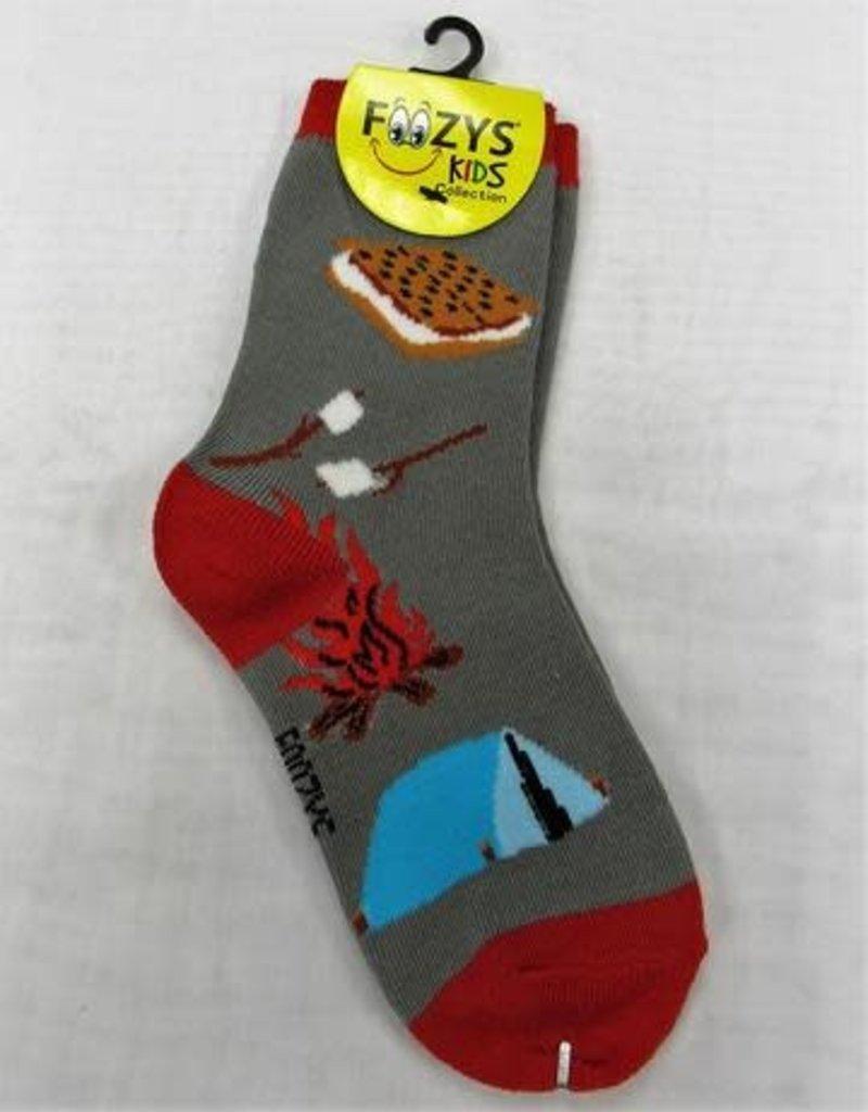 Smores & Camp Fire Socks