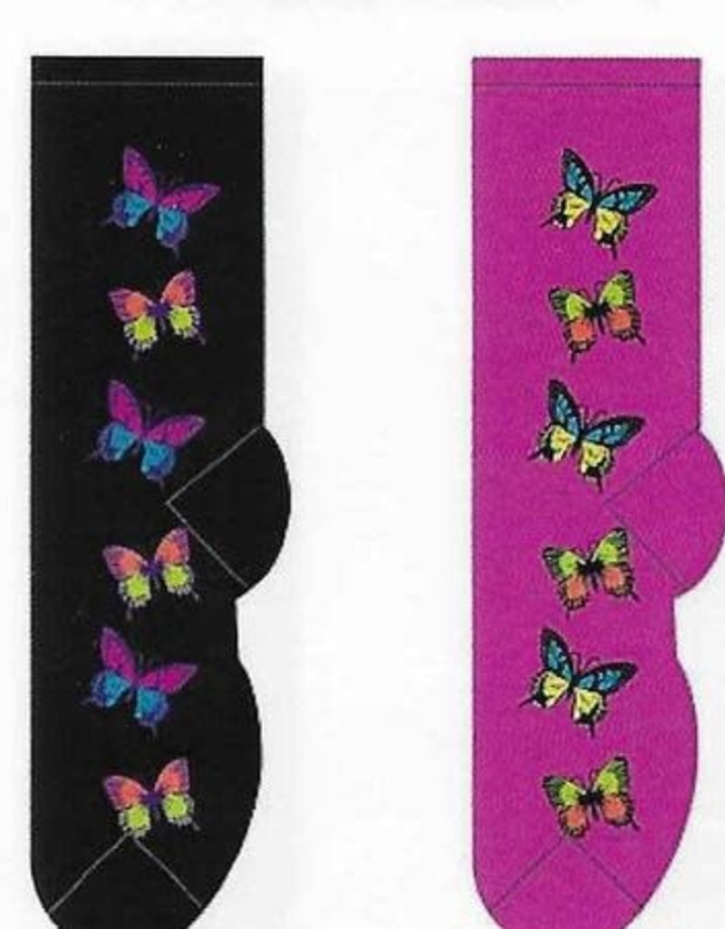 Beautiful Butterflies Socks