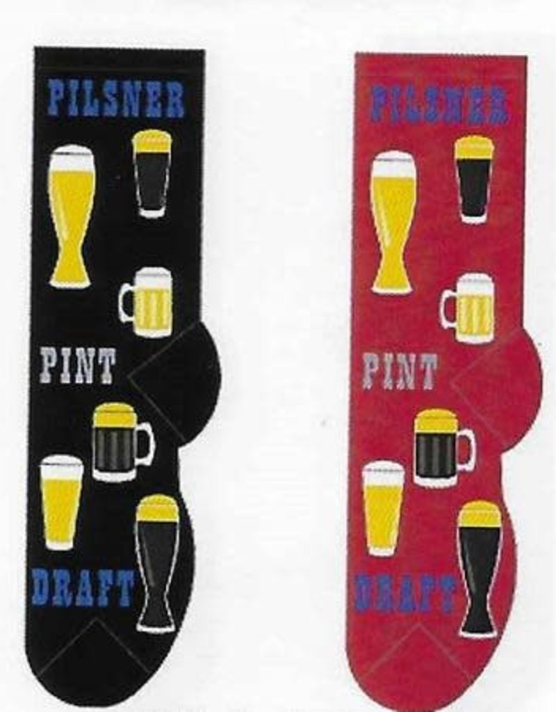 Beer Time Socks