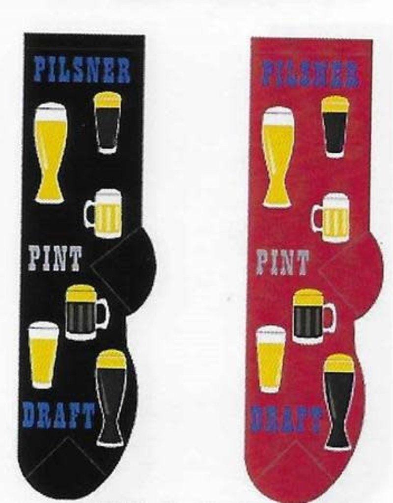 Foozys Beer Time Socks