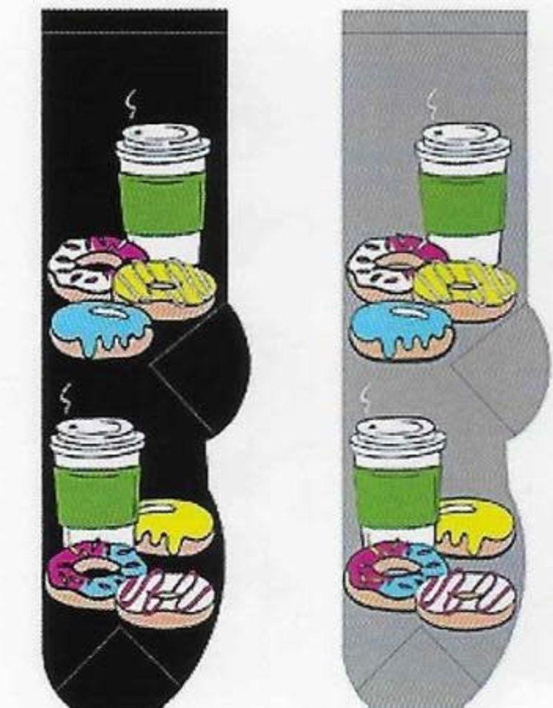 Donuts & Coffee To Go Socks