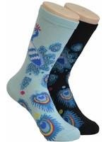 Foozys Peacock Socks