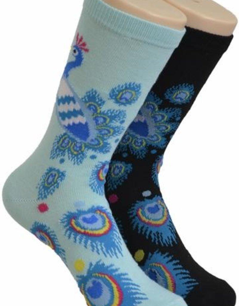 Peacock Socks