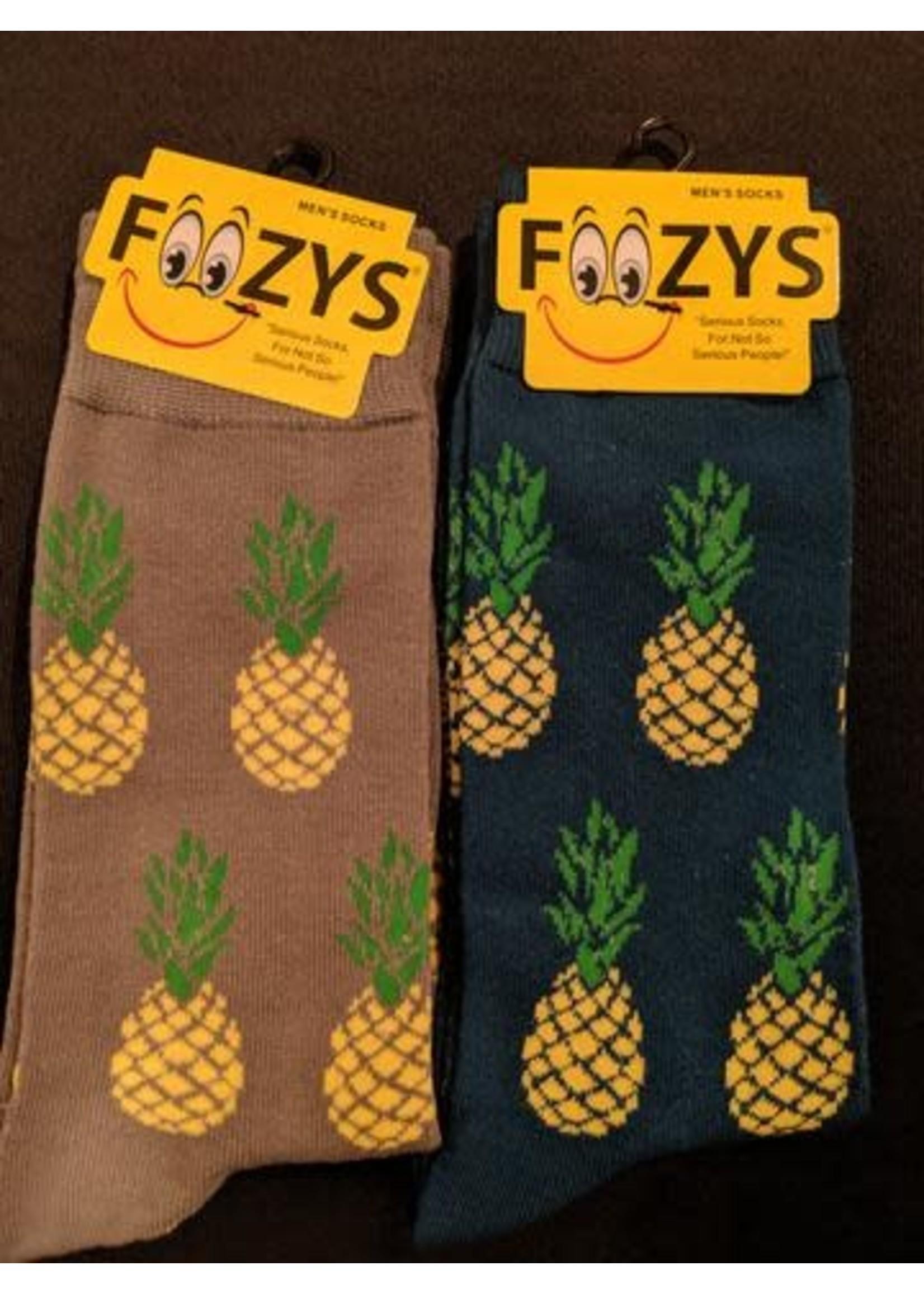 Foozys Pineapple Socks