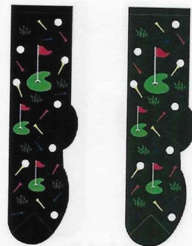 Foozys Putting Green Socks