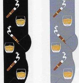 Foozys Scotch & Cigars Socks