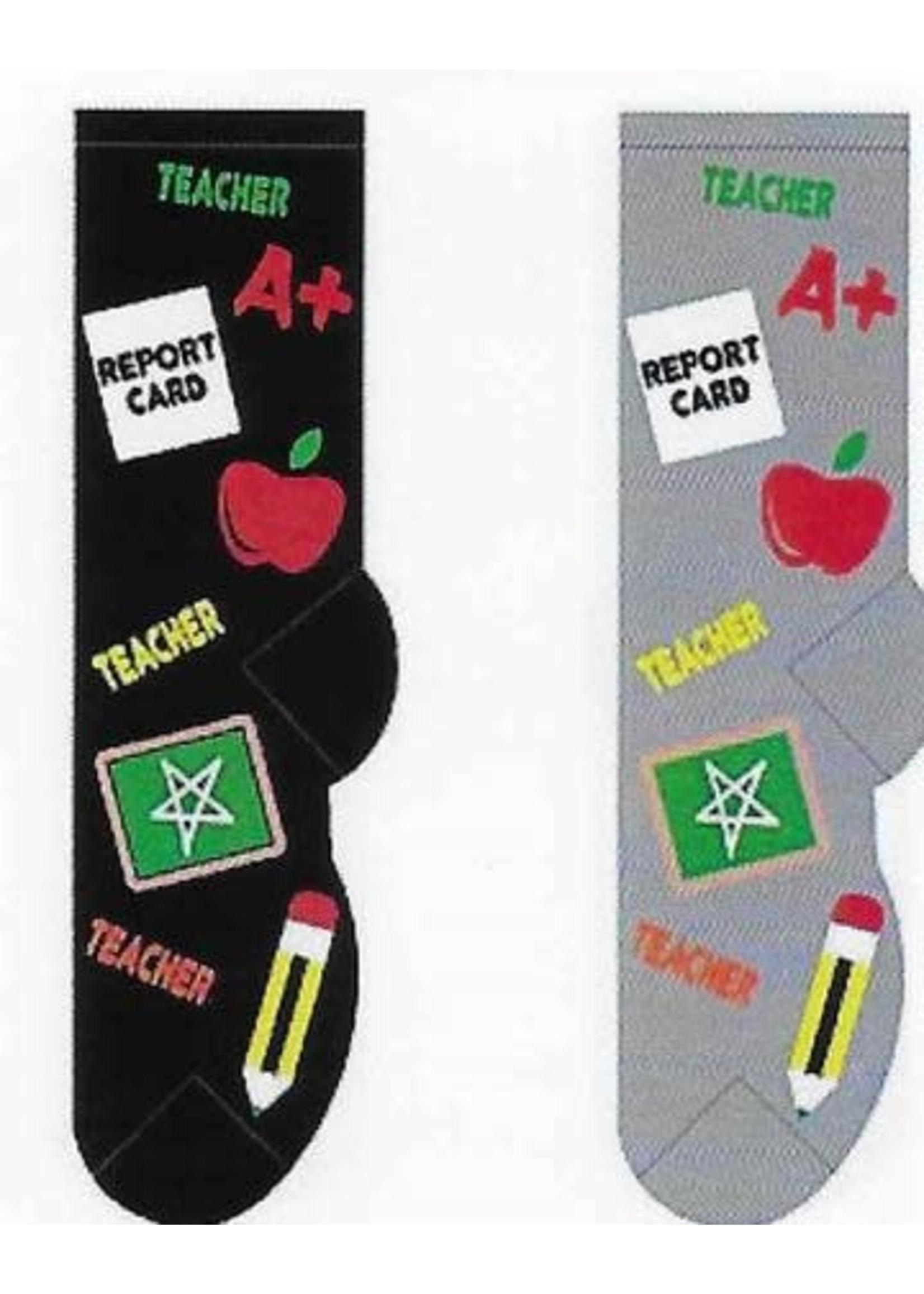Foozys Teacher Socks