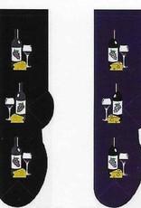 Wine & Cheese Socks