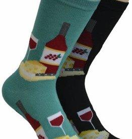 Wine Time Socks