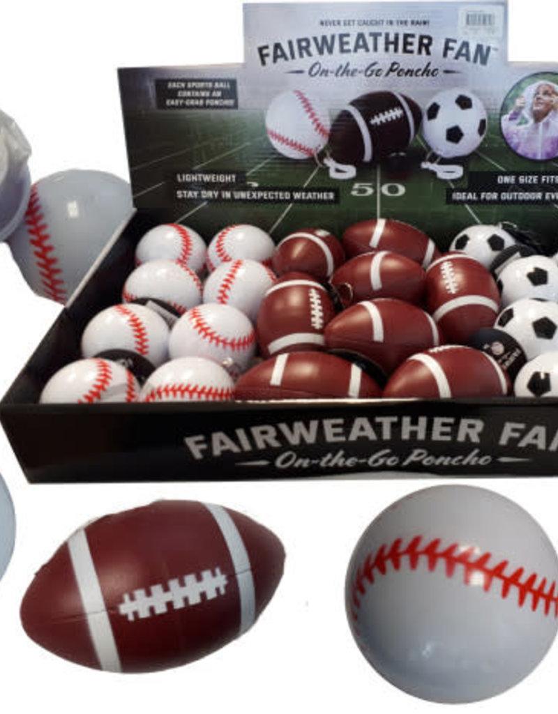 FairWeather Fan Sport Poncho