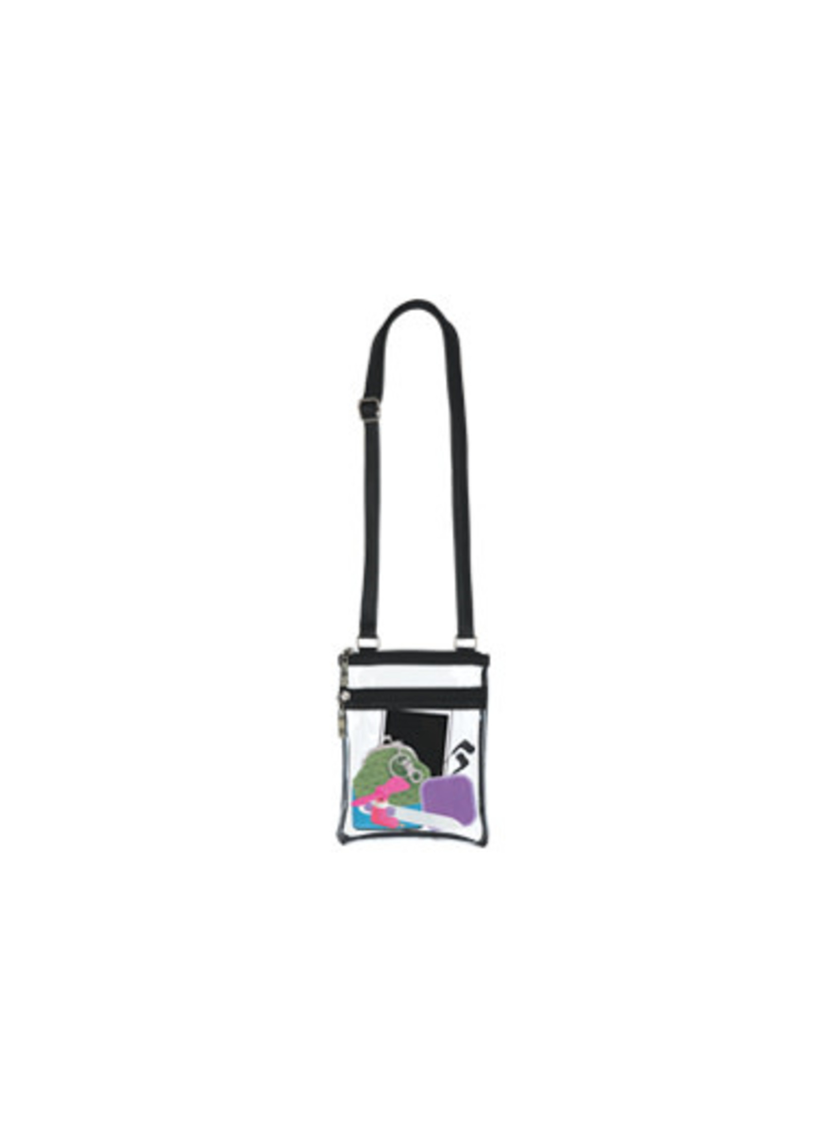 Event Clear Bag with Black Trim