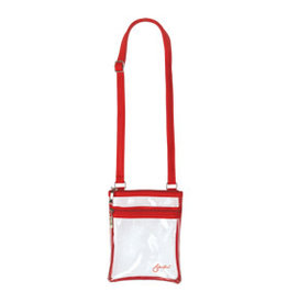 Event Clear Bag with Red Trim